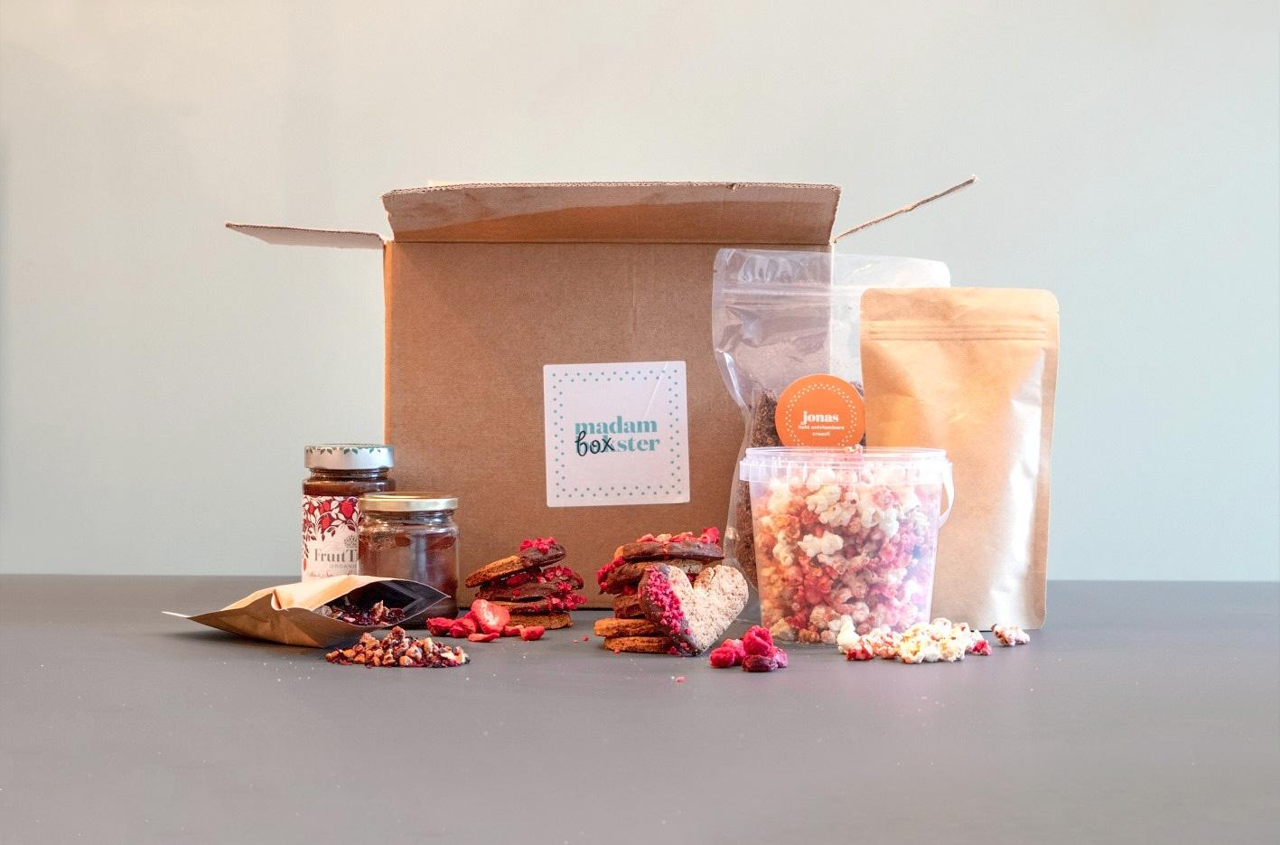 Box vol liefde - een box speciaal om de liefde te vieren