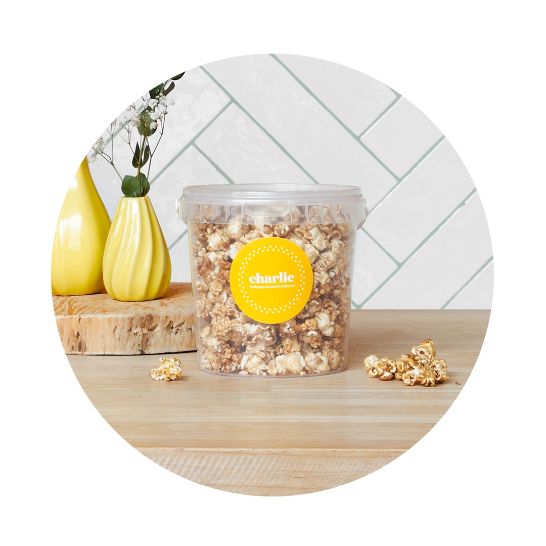 Charlie - Krokante karamel popcorn