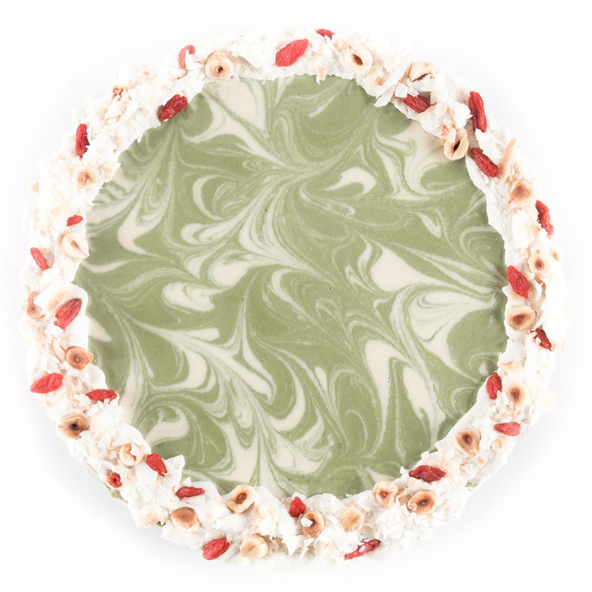 Naomi - Weelderige Matcha yoghurttaart
