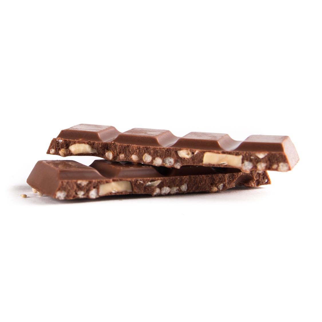 Otto - Kokosmelkchocolade met gepofte quinoa en hazelnoot