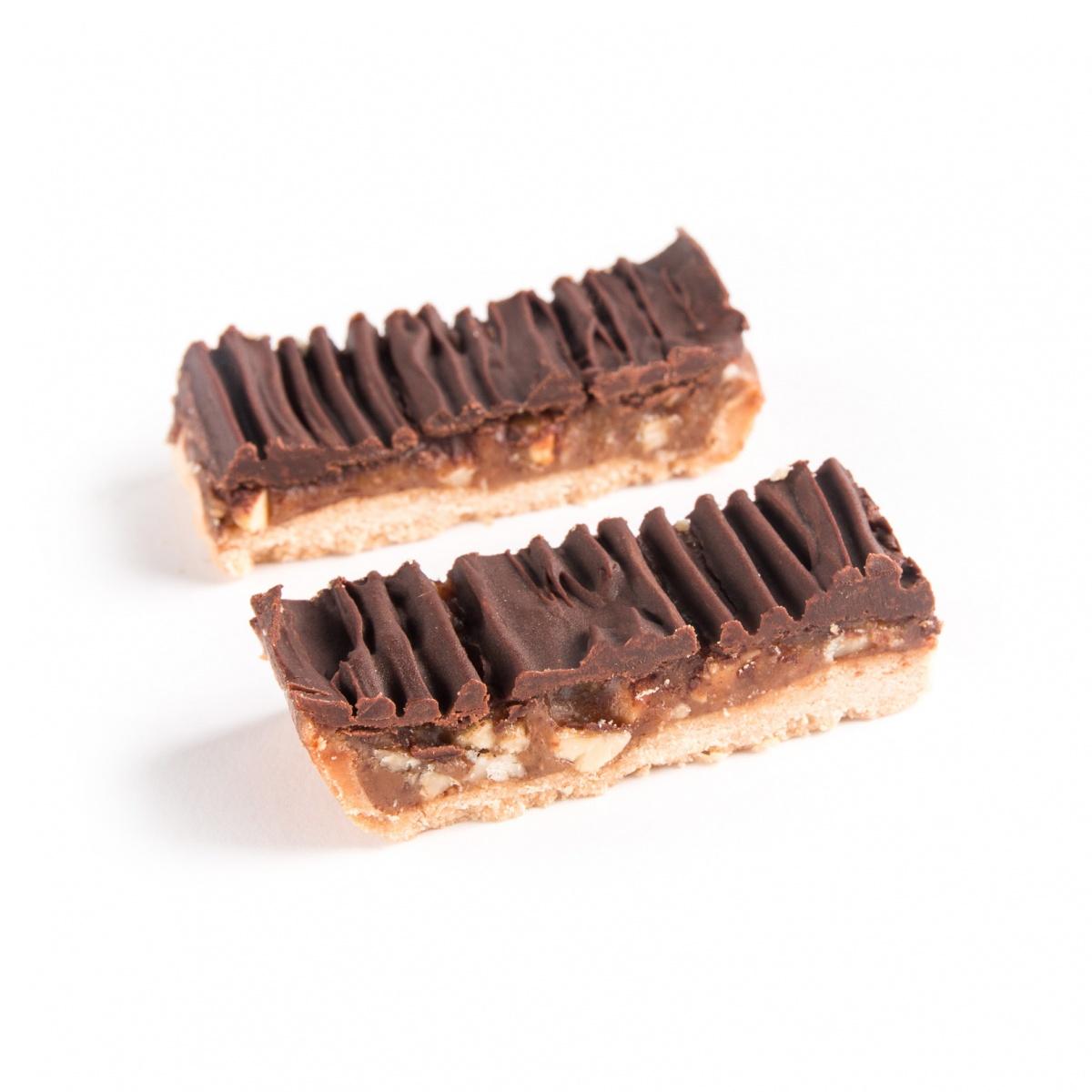 Ludo - Gezellige karamel-chocoladereep